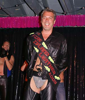 Steve Rodriguez, Mr. FI Leather 2009 - photo by Joseph R. Saporito