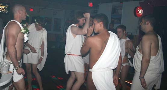 Toga Party - photo by Bruce-Michael Gelbert
