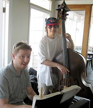 Jazz Brunch with Paul A. Johnson - photo by Bruce-Michael Gelbert