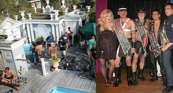 ... poolside scene at Belvedere, & Mr. Fire Island Leather 2010 contest at ...