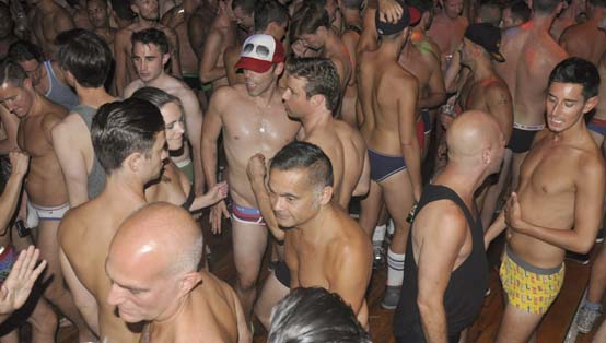 ice palace underwear party